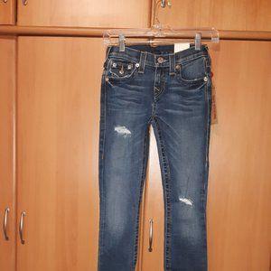 Women's True Religion Super Skinny Jeans Sz W24